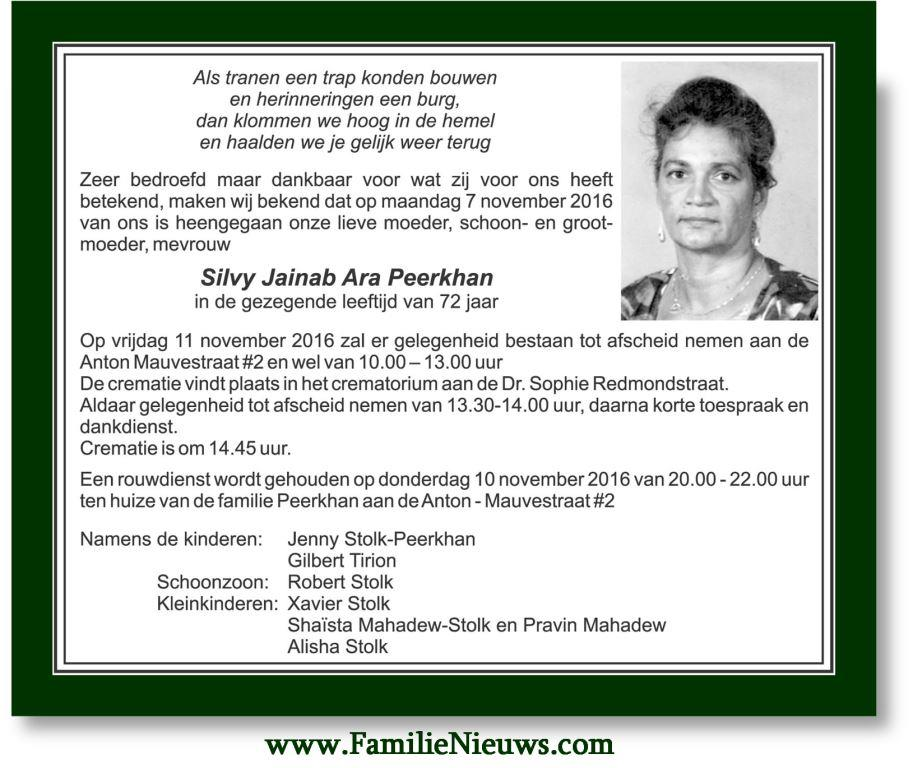 overleden-silvy-peerkhan