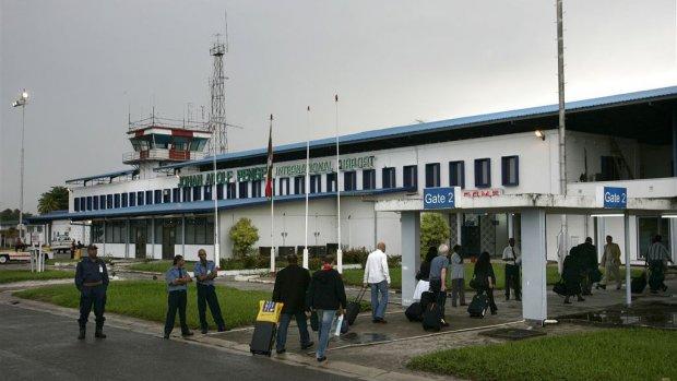 vliegveld Paramaribo