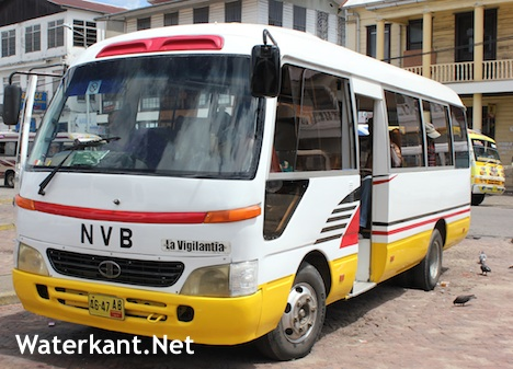 bus prijs diesel FamilieNieuws Suriname