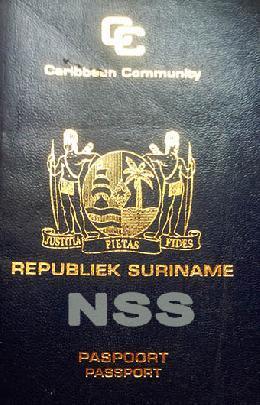 Suriname paspoort