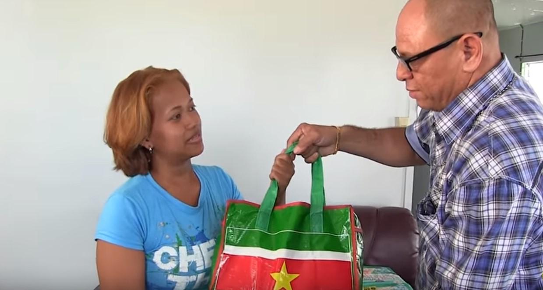 Donatie 1 voor 12 Suriname FamilieNieuws