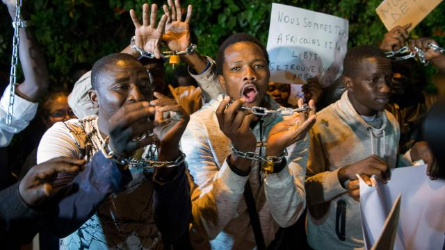Slaven Nigeria Libië FamielieNieuws