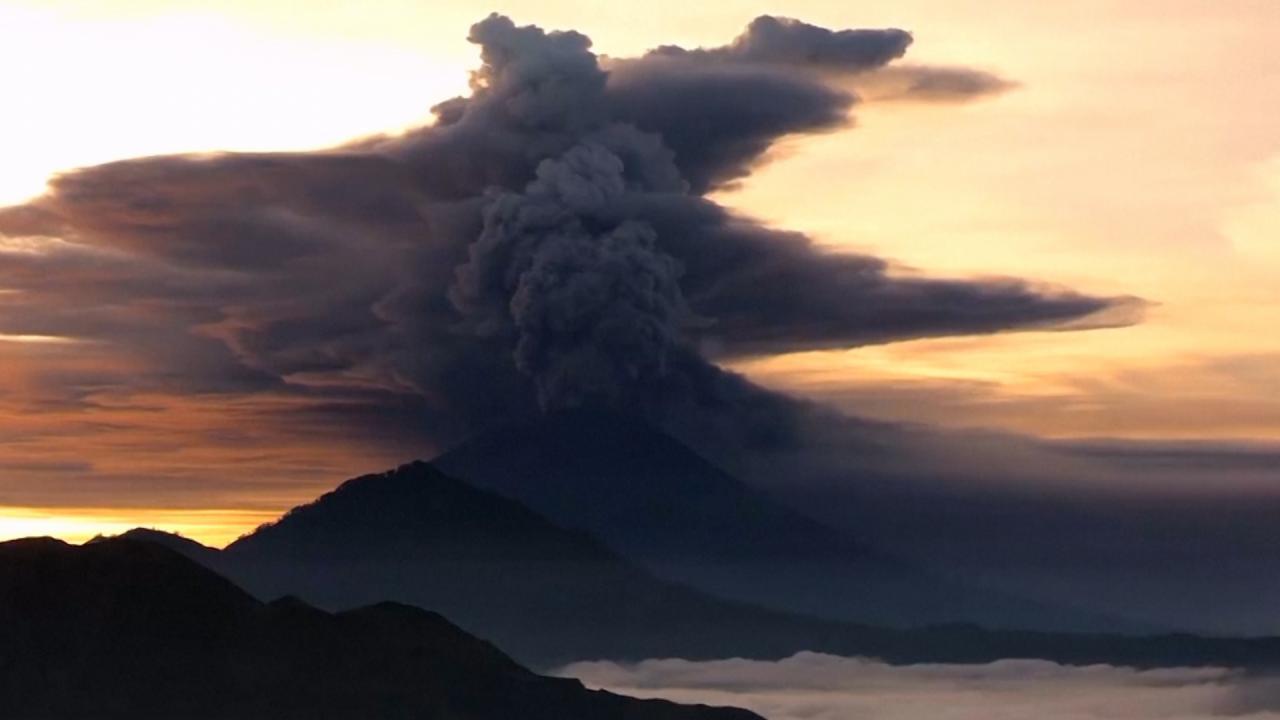 Vulkaan Bali FamilieNieuws