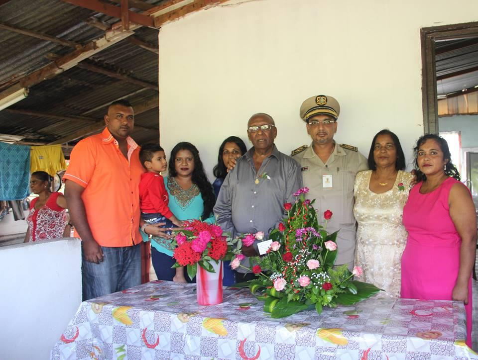 50 jaar huwelijk voor echtpaar Sardjoe - Autar FamilieNieuws Suriname trouwen