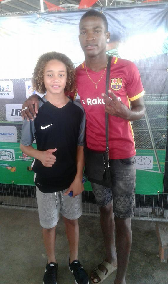 Voetballer Suriname Spanje Bouterse Familienieuws
