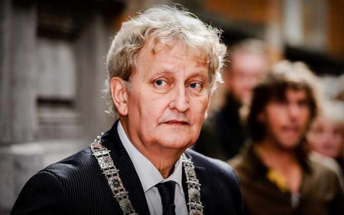 Dankbetuiging - Burgemeester Van der Laan (Amsterdam