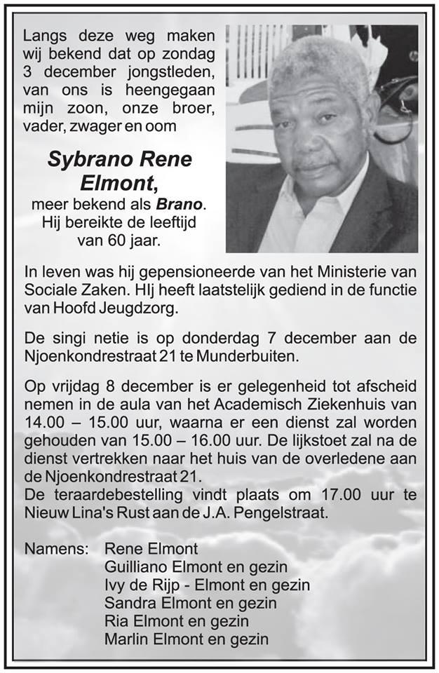 Overleden Suriname FamilieNieuws