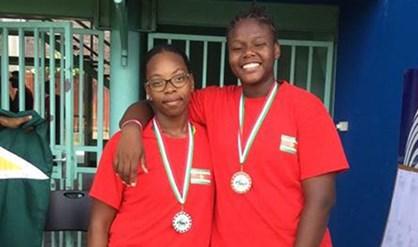 goud Suriname sport Alicia Grootfaam Familienieuws