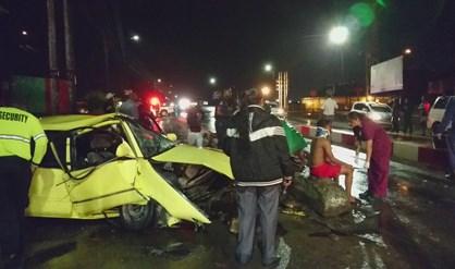 gewonden Suriname verkeersongeluk FamilieNieuws