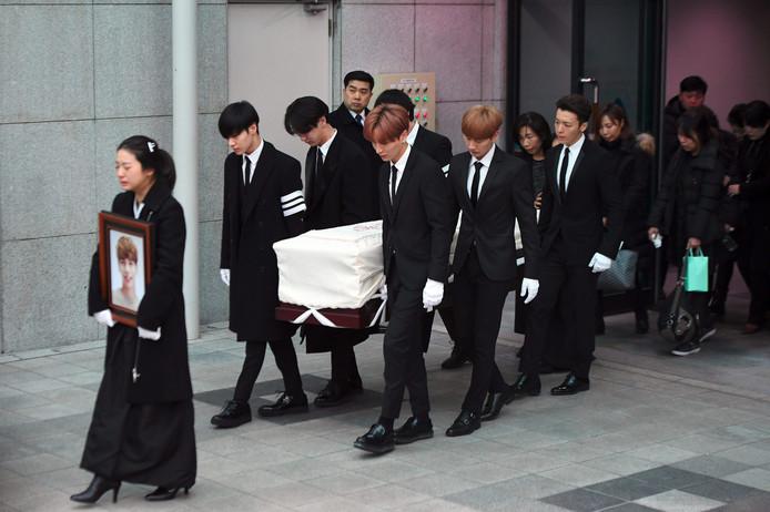 overleden zanger SHINee Kim Jong-hyun buitenland FamilieNieuws