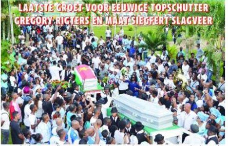 uitvaart rigters slagveer FamilieNieuws overleden Paramaribo Suriname voetbal