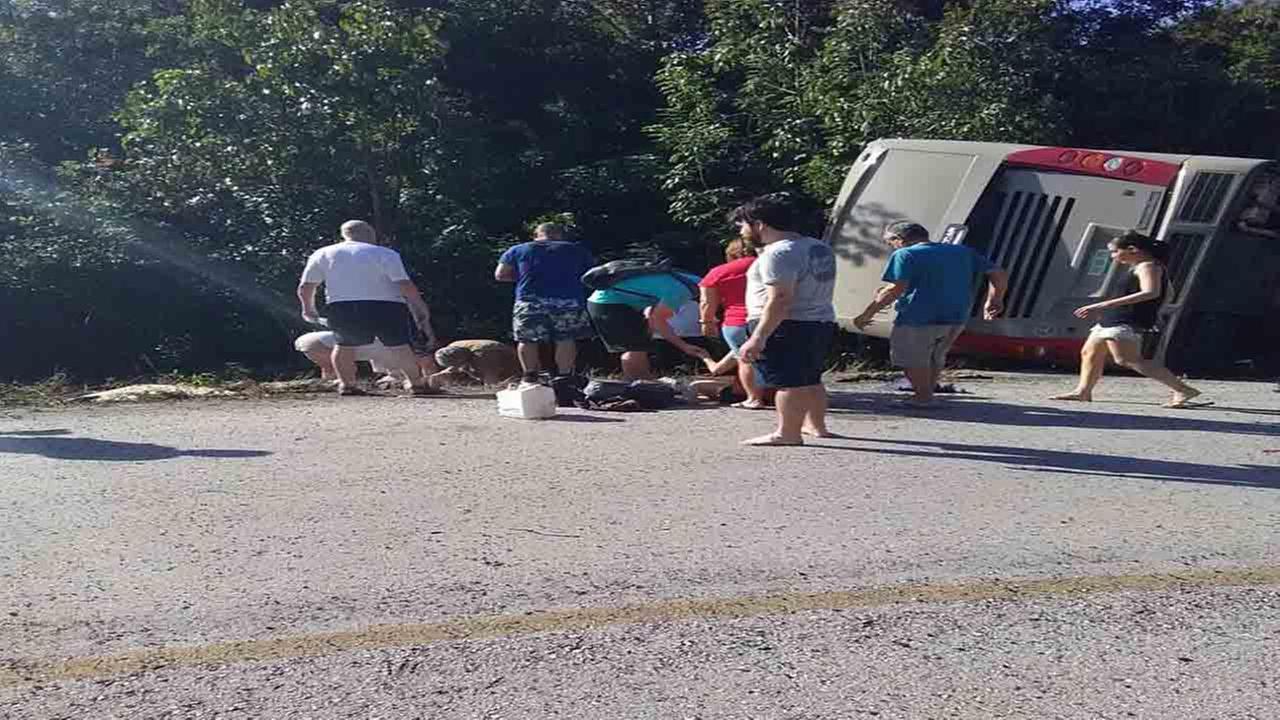 bus buitenland doden overleden mexico FamilieNieuws