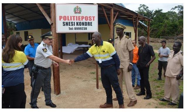 Nieuw politie post Suriname FamilieNieuws
