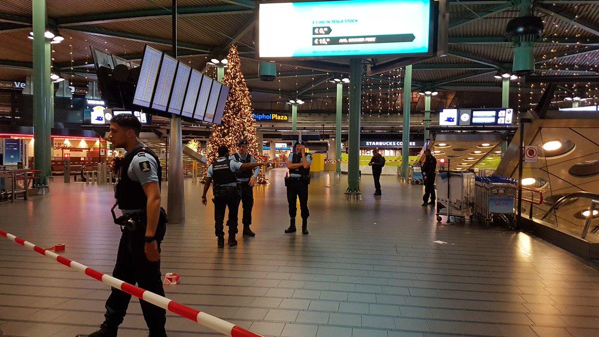 schietpartij politie schiphol Nederland FamilieNieuws