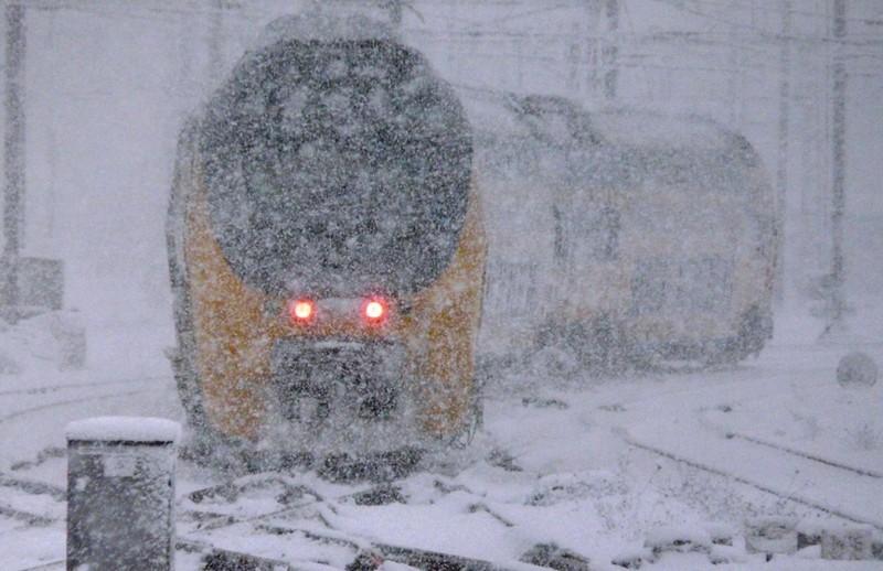 trein sneeuw NS FamilieNieuws Nederland