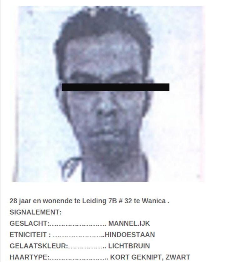 vermist gevangenis politie Suriname FamilieNieuws