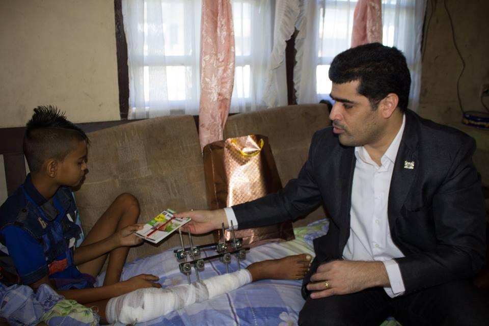 Vice President bezoek slachtoffers 1 voor 12 FamilieNieuws Suriname