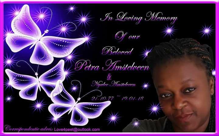Overleden FamilieNieuws Herinnering aan mijn vriendin Petra Amstelveen en haar ongeboren baby Nyalee