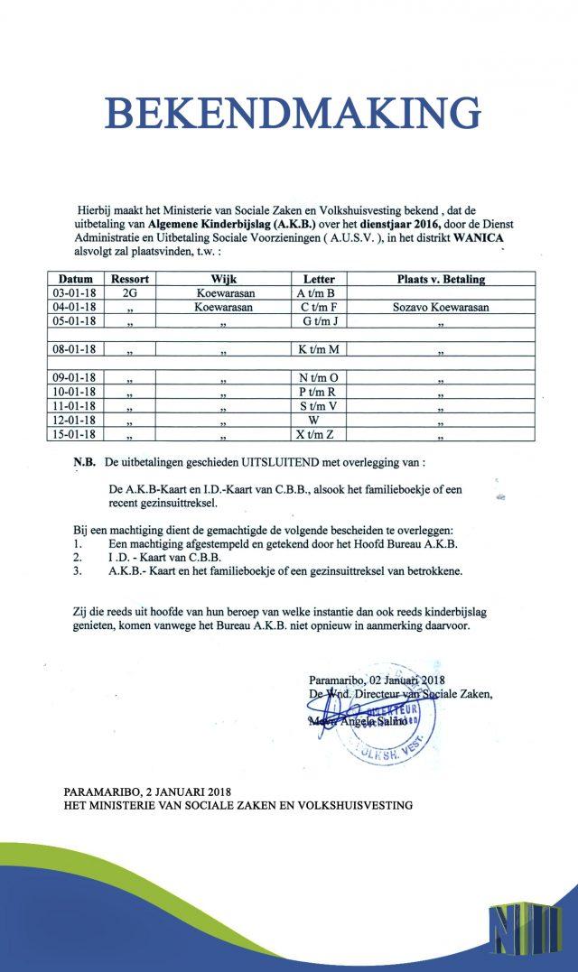 datum huurtoeslag uitbetaling