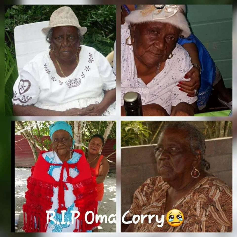Mijn herinnering aan mijn lieve oma Corry FamilieNieuws Suriname overleden