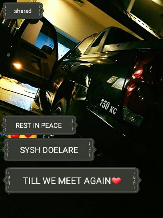 The herinnering aan mijn brother Shysh Doelare 1