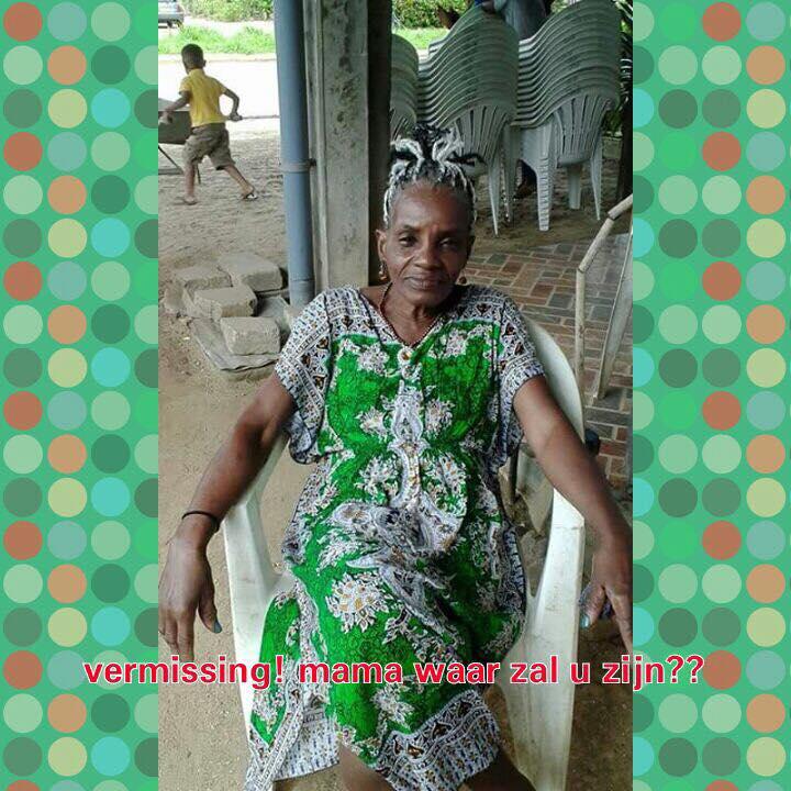 Vermissing moeder Alken FamilieNieuws Suriname