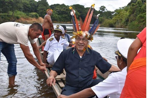president binnenlanf FamilieNieuws Suriname