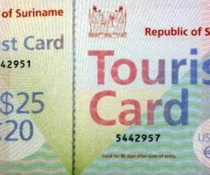 toeristenkaart suriname FamilieNieuws reizen vakantie