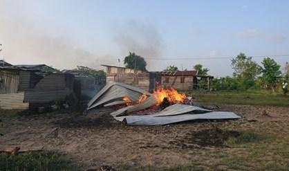 woningbrand Suriname FamilieNieuws