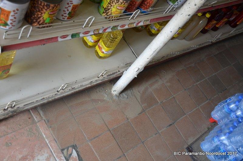 Supermarkt gesloten