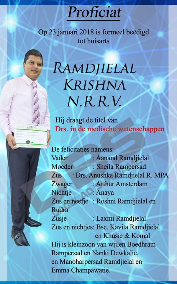 Krishna Ramdjielal