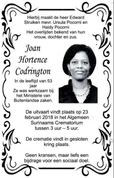 Joan Codrington