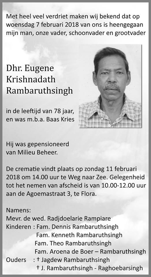 Eugene Rambaruthsingh