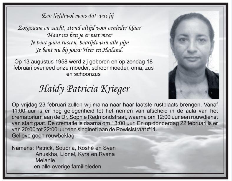 Haidy Krieger