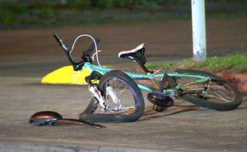 fiets aangereden