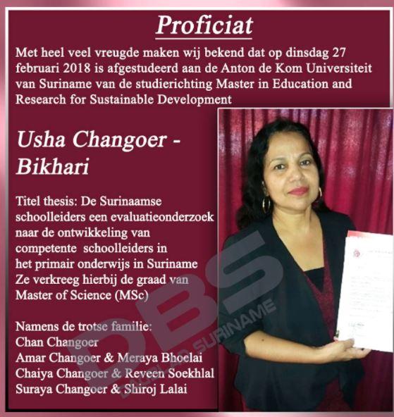 Usha Changoer - Bikhari