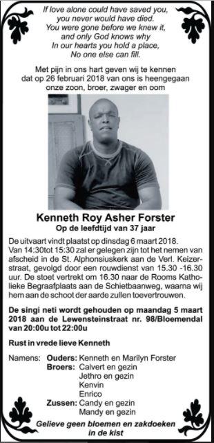 Kenneth Forster