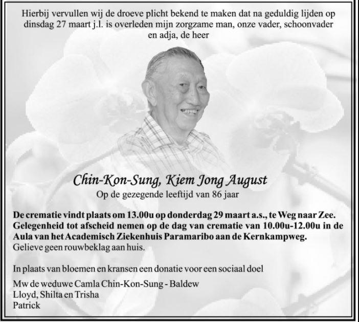 August Chin-Kon-Sung