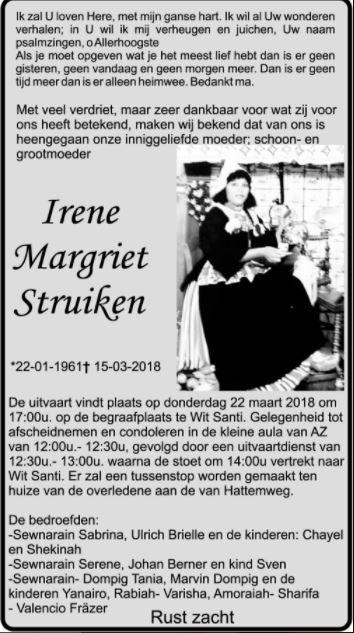 Irene Struiken