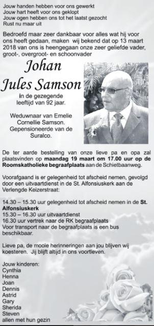Johan Samson