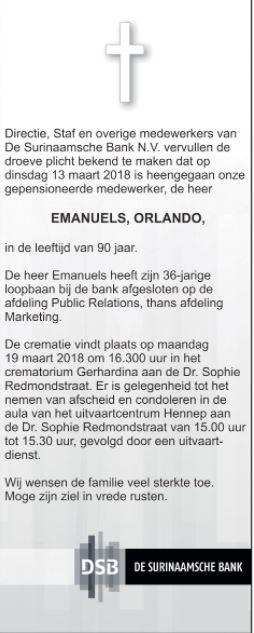 Orlando Emanuels