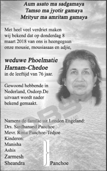 hoelmatie Harnam - Chedoe