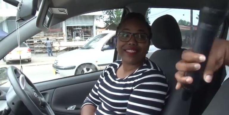 weggebruiker Paramaribo