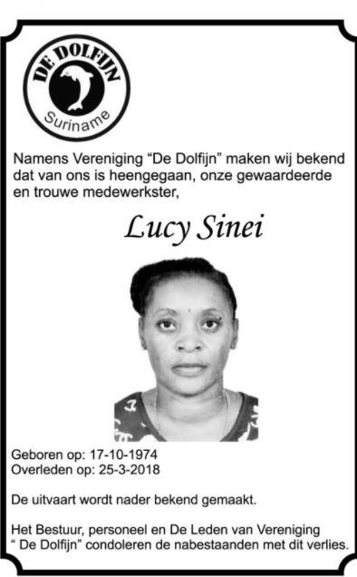 Lucy Sinei