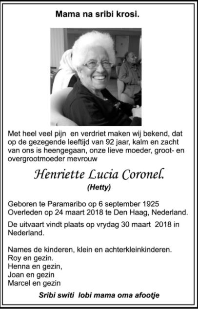 Hetty Coronel