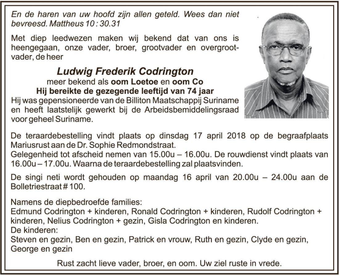 Ludwig Codrington
