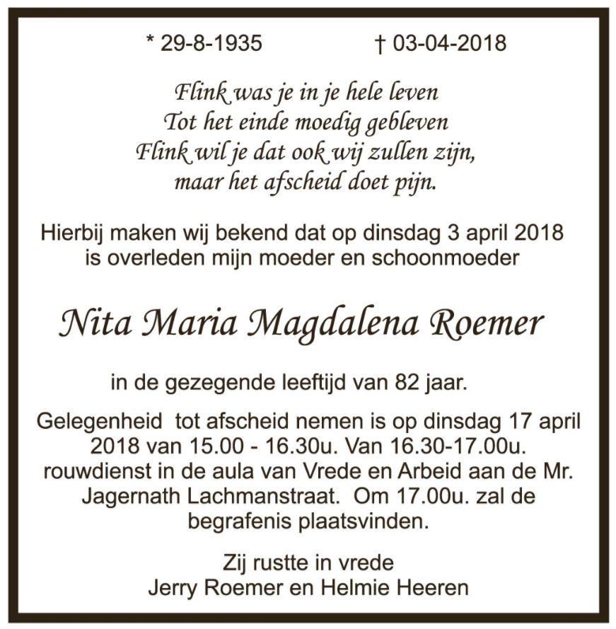 Nita Roemer