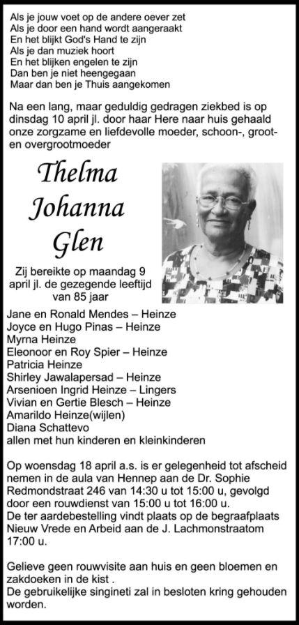 Thelma Glen