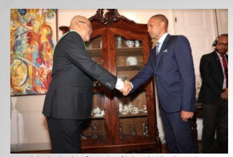 minister Suriname