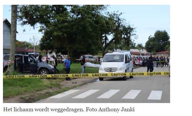 moord Paramaribo